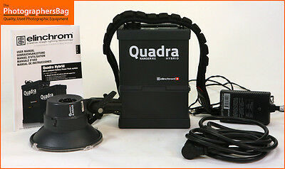 Elinchrom Ranger Hybrid RX Quadra Lighting Kit Battery A Head Free UK Postage