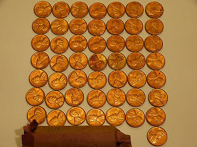 Full 50pc Roll 1959-P Lincoln Cents uncirculated