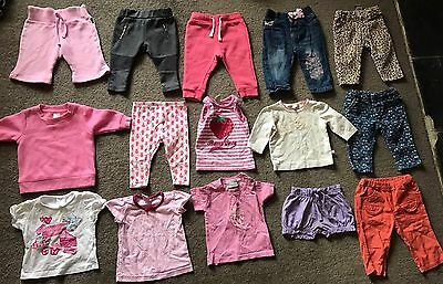 Baby Girls Bulk Size 00 Set Includes Fox & Finch Baby, Dimples, Target, Bonds