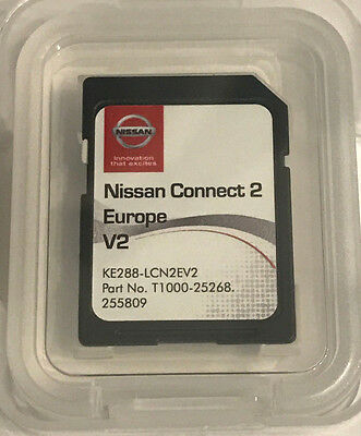 Genuine Nissan Connect 2 Lcn2 Navigation Sd Card 2017 Latest Maps V2