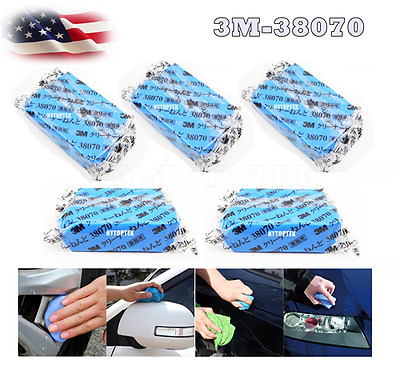 5X 3M MAGIC Clay Bar Car Truck Cleaning Remove Marks Detailing Wash Cleaner  USA