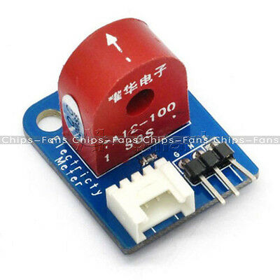 AC 0~5A Analog Current Meter Ammeter Sensor Board for Arduino UNO PIC AVR MCU UK