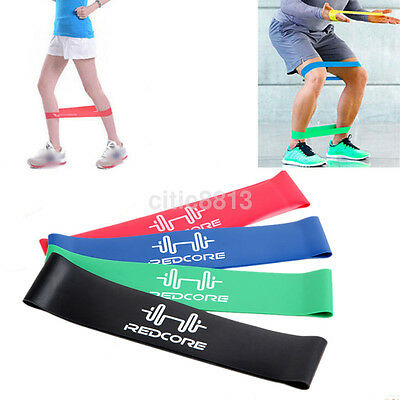 Resistance Band Tube Workout Exercise Elastic Band Fitness Equipment Yoga 1pcs