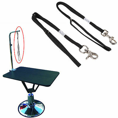 Dog Pet Cat Animal Noose Loop Lock Clip Rope For Grooming Table Arm Bath 50cm