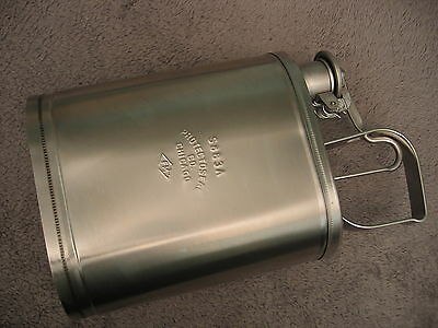 Protectoseal S883A Stainless ONE GALLON SAFETY STORAGE CAN solvent letterpress