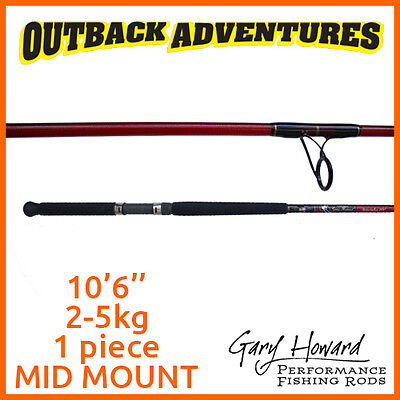 Gary Howard Breambo 4W 10'6'' Fishing Rod 10Ft6 2-5Kg 1 Piece Mid Mount