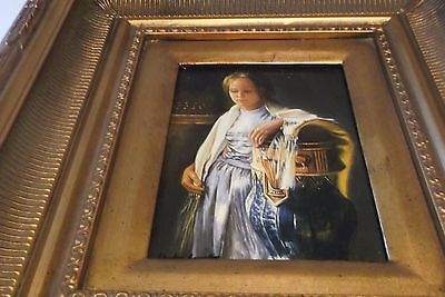 A Lovely Original Oil Painting By Charles Lancaster