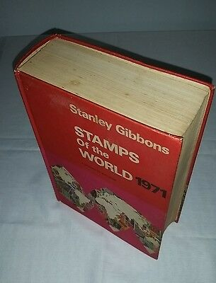 Stanley Gibbons 1971 Stamps of the World stamp Catalogue list & prices1256 pages