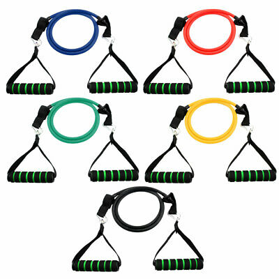 Gymnasium Door Anchor Resistance Tube Strength Training Rope Workout Hose Band