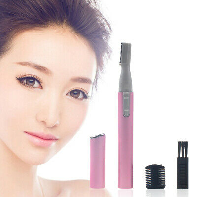 Electric Travel Eyebrow Nose Ear Hair Body Trimmer Remover Lady Shaver Razor ...