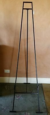 Easel 163 Cm High Antique/vintage Black / Wedding / Photo/painting Industrial