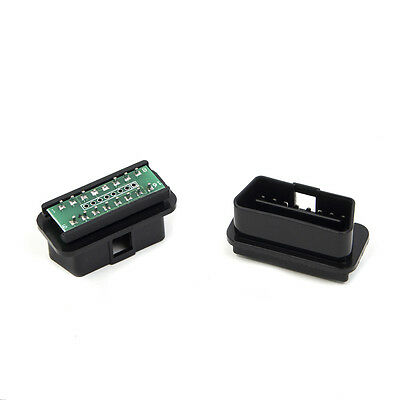 16 PIN OBD2 OBDII Universal Male Connector Plug for Diagnostic Adapter DIY Shell
