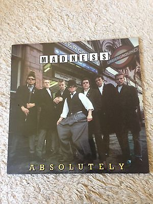 Madness. Absolutely. Rare Withdrawn Sleeve. Vinyl LP