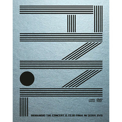 Yg  Bigbang 10 The Concert 0To10 Final In Seoul Dvd Official Goods