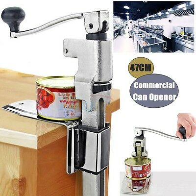 Universal Pro Commercial Stainless Can Tin Opener for Large Catering Tins/ Cans