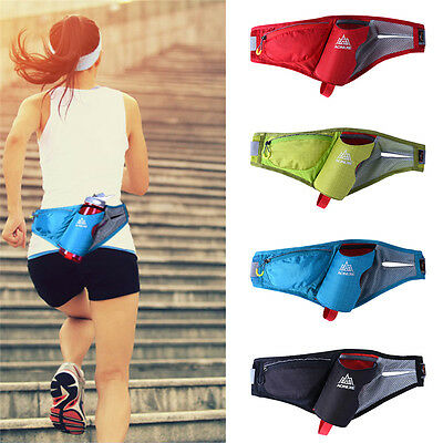 Belt Fanny Pack Waist Pouch Bag With Bottle Holder Phone Case For Runing Cycling