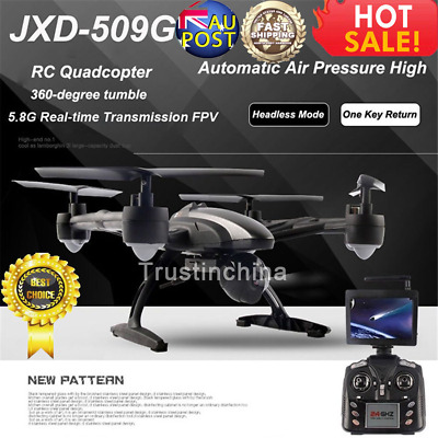 JXD 509G RC Drone FPV Quadcopter with HD Camera 5.8G Altitude Hold Helicopter