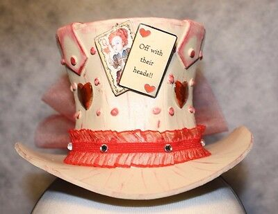 Small Steampunk Mad Hatter Alice in Wonderland Victorian Top Hat