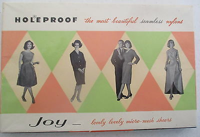 Vintage Holeproof Seamless Nylons stockings in orginal box from 60s or 70s