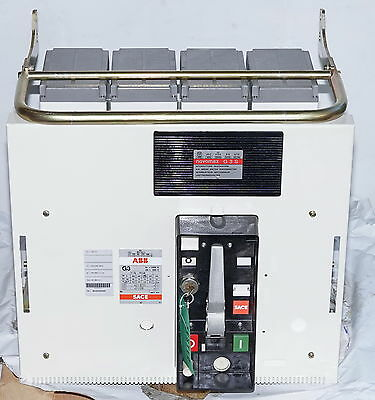 ABB SACE Novomax G3-S 2500A Air Circuit Breaker CB Interrupter ACB 4-Pole