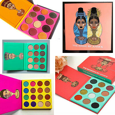 Newest edition Juvia's places the magic eyeshadow palette women make up cosmetic