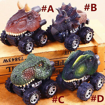 1XKinder Spielzeug Geschenk Mini Dinosaurier Modell Mini Toy Car Back Of The Car