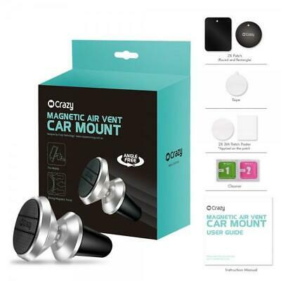 "2x Universal 4-5.8"" Car Mount Cradle Magnetic"