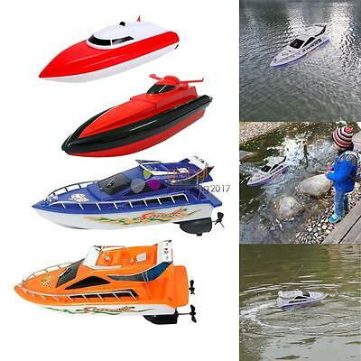 Kid Radio Remote Control RC Super Mini Speed Boat Ship High Performance Toy Gift