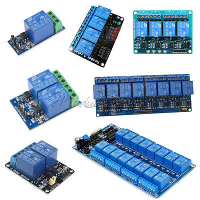 1/2/4/8/16 Channel 12V Relay Module With optocoupler For PIC AVR DSP ARM Arduino
