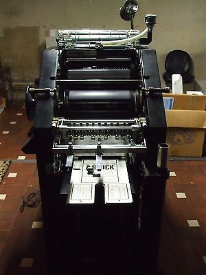 Offset Printing Press ABDick 9870D, Swingaway T-head, Xante Plate Maker +extras