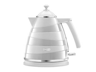 Delonghi KBA3001.W Avvolta Kettle 1.7L 3000W 2 Year Warranty White
