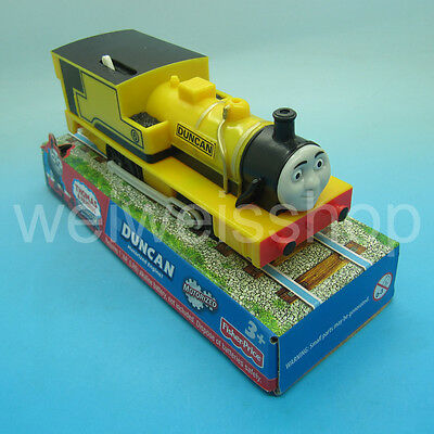 New Packing Fisher-Price Trackmaster Thomas & Friends Motorized Train Duncan
