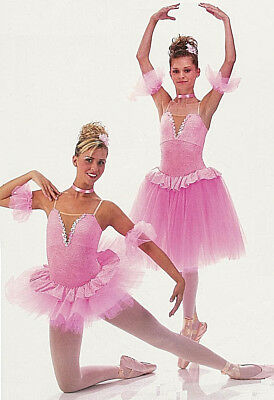 Romantic or Short Ballet Tutu Dance Costume Supar Plum Fairy Adult Large