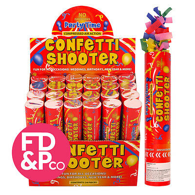 20cm 50cm 80cm Red Confetti Shooter Compressed Air Cannon Party Wedding Poppers