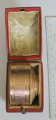 Early 19th.C. (1820s)  Cased MINIATURE 8 Draw Pocket TELESCOPE/Spyglass