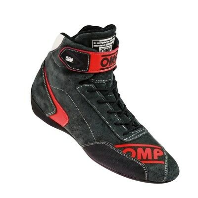FIA OMP FIRST EVO Race shoes Red rally boots Drive Leather 8856 NEW 2017