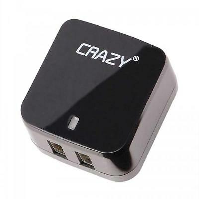 USB Wall Charger Adapter Plug For iPhone, iPad and Galaxy