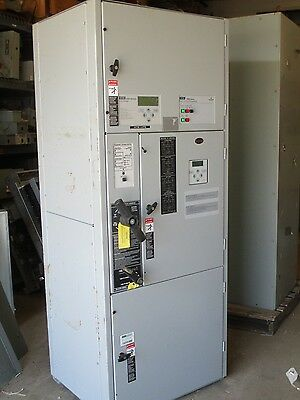 Asco 7000 Series 600 Amp 480 Volt Transfer And Bypass Switch- Ats275