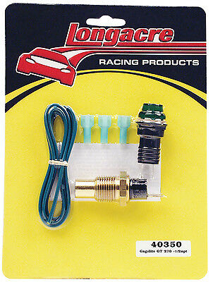 Longacre 40350 Oil Temperature Warning Light Kit #1725