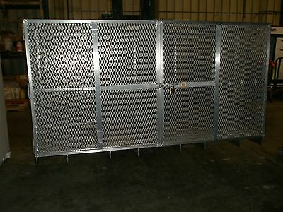 Stainless Steel Veterinarian Dog Kennel Cage Heavy Duty