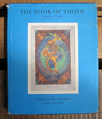 The Book of Thoth by Aleister Crowley (Hardcover, 1974)