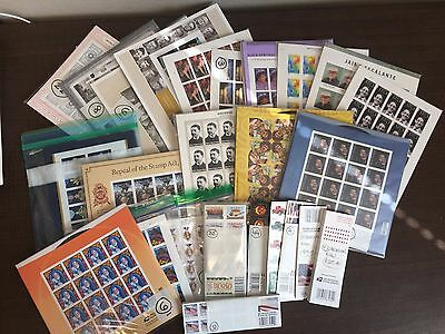 WCstamps: $3,707.34 Face Value - Lot Of Mint USPS Forever Stamps, Full Sheets