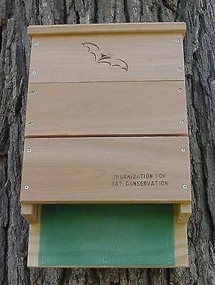 Looker Products Triple Chamber Bat House Approved by the Organization for Bat...