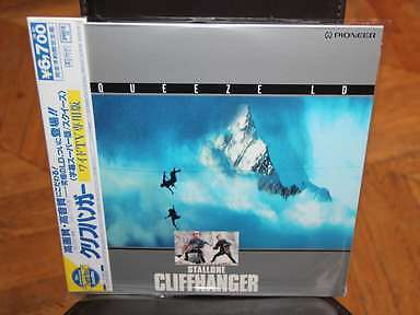 Cliffhanger Laserdisc LD Squeeze NTSC JAPAN Sylvester Stallone