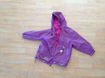 Purple Girls Coat from Italy