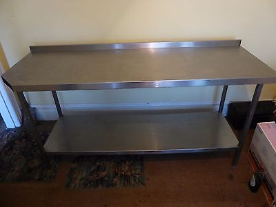 Stainless Steel Kitchen Catering Table