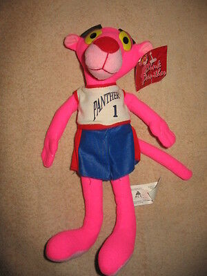 """Pink Panther Mascot - 11"""" Tall - NEW with TAGS!!!"""