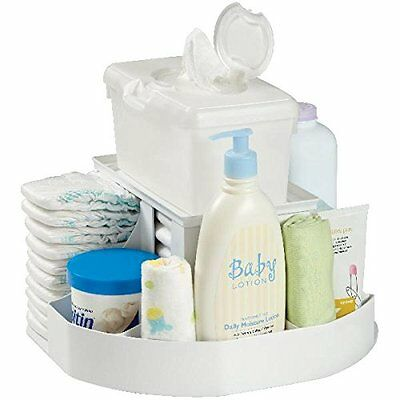Dexbaby 'The Spin' Diaper Changing Station / Baby Nappy Stacker / Organiser