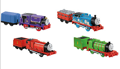Thomas & Friends James Henry Charlie Trackmaster Engine Kids Toy Train 4-Pack