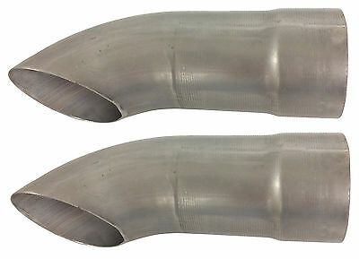 "Schoenfeld 3025 3"" Exhaust Turnouts - Pair  #1768"